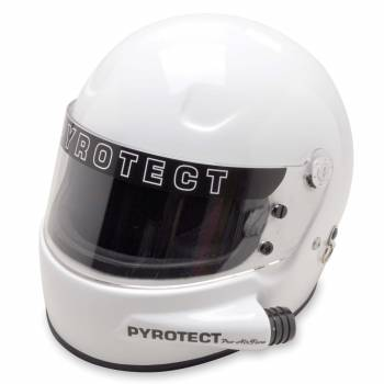 Pyrotect Pro Airflow Forced Air Helmet - White
