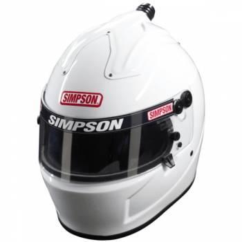 Simpson SA2015 Air Inforcer Shark Helmet 677 - White
