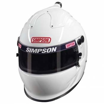 Simpson Air Inforcer Vudo Helmet 662 - White