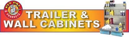 Pit Pal Trailer Door Cabinets