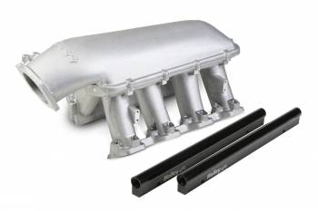 Holley Performance Products - Holley LS Hi-Ram EFI manifold-LS1/LS2/LS6 Cathedral Port EFI with 92mm Throttle Body