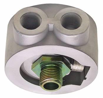 Trans-Dapt Performance - Trans-Dapt Oil Cooler Sandwich Adapter - 0.75-16 Threads
