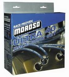 Moroso Performance Products - Moroso Ultra 40 Plug Wire Set - LS1- Unsleeved