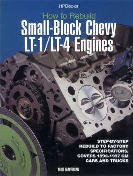 HP Books - How To Rebuild LT1/LT4 Engines