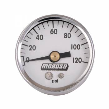 Moroso Performance Products - Moroso 1-1/2 Oil Pressure Gauge - 0-120 psi