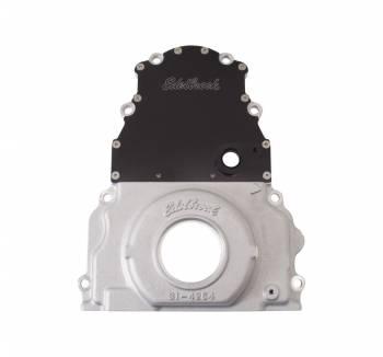 Edelbrock - Edelbrock Aluminum Timing Cover - GM GEN IV and LS2/7 and Early Model Trucks