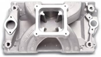 Edelbrock - Edelbrock Victor Glidden 18 Degree Chevy Intake Manifold Non-EGR