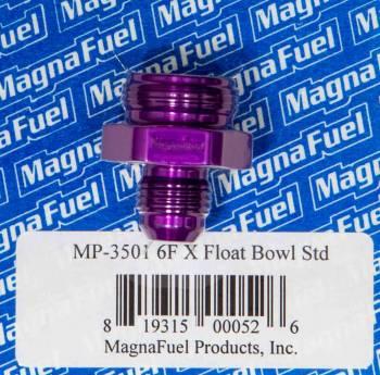 MagnaFuel - MagnaFuel #6 Holley Float Bowl Fitting