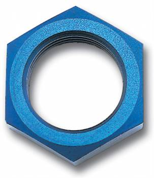 Russell Performance Products - Russell Endura Bulkhead Nut #8 Blue