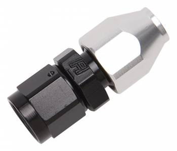 """Russell Performance Products - Russell #6 Male 37° to 3/8"""" Tube Black/Silver"""