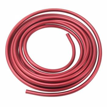 Russell Performance Products - Russell 3/8 Aluminum Fuel Line 25 Ft. - Red Anodized