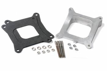 Holley Performance Products - Holley Carburetor Spacer - 12 Degree Wedge