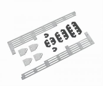 Mr. Gasket - Mr. Gasket Spark Plug Wire Divider Bracket Set - Brushed Aluminum