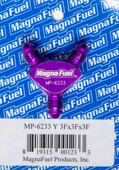 MagnaFuel - MagnaFuel Y-Fitting - 3 #3 AN Male