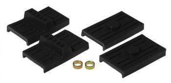 Prothane Motion Control - Prothane Leaf Spring Pad Kit - Black