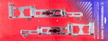 Proform Performance Parts - Proform Linear Spark Plug Wire Loom - Bow Tie Emblem - Chrome