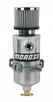 Moroso Performance Products - Moroso Aluminum Breather Tank