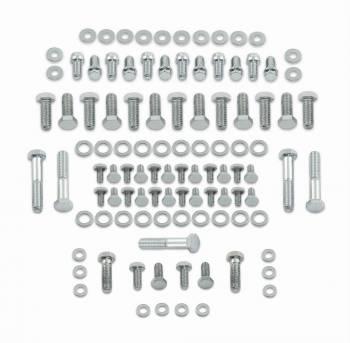 Mr. Gasket - Mr. Gasket Complete Engine Bolt Kit - Chrome Plated Hex Head