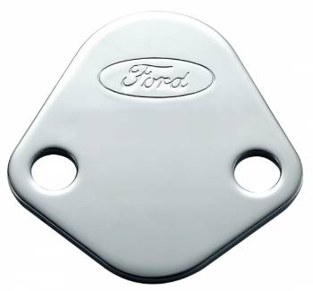 Proform Performance Parts - Proform Fuel Pump Block-Off Plate - Ford Oval Emblem - Ford 289-302-351W