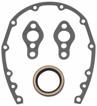 Edelbrock - Edelbrock Timing Cover Gasket and Oil Seal Kit - Includes Front Cover Gasket/Front Seal