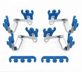 Mr. Gasket - Mr. Gasket Competition Style Wire Loom Kit - Contains Eight 2 Hole Looms