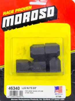 Moroso Performance Products - Moroso 5/8-16 Lug Nuts (5 Pack)