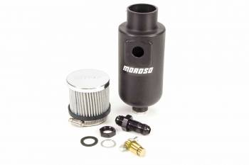 Moroso Performance Products - Moroso Poly Breather Tank w/ 8 AN Fitting