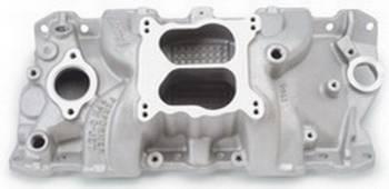 Edelbrock - Edelbrock Performer RPM Quadrajet Intake Manifold - Cast