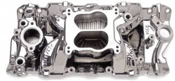 Edelbrock - Edelbrock Performer Air-Gap Series Intake Manifold - Endurashine