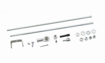 Mr. Gasket - Mr. Gasket Dual Quad Carburetor Linkage Kit - Universal Applications