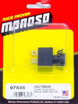 Moroso Performance Products - Moroso Replacement Circuit Breaker