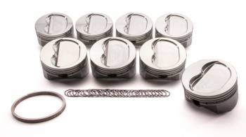 Sportsman Racing Products - SRP SB Chevy Dished Piston Set 4.155 Bore