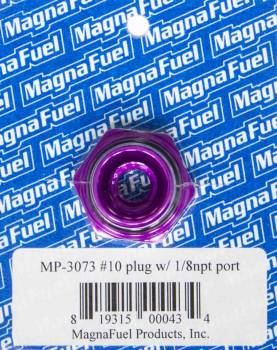 "MagnaFuel - MagnaFuel #10 O-Ring Port Plug w/ 1/8"" NPT "" Center"