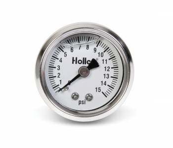 Holley Performance Products - Holley Mechanical Fuel Pressure Gauge - 0