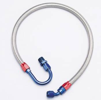 Edelbrock - Edelbrock Braided Stainless Fuel Line Kit - Fuel Pump To Filter