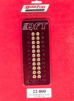 Quick Fuel Technology - Quick Fuel Technology Jet Assortment Kit w Billet Plate 80-90