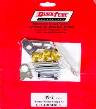 Quick Fuel Technology - Quick Fuel Technology Throttle Return Spring Kit - QFX Carbs