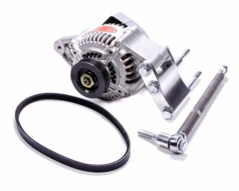 Powermaster Motorsports - Powermaster High Mount Racing Alternator Kit - High Mount