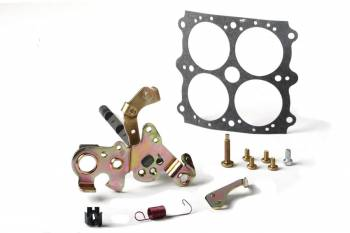 Holley Performance Products - Holley Carburetor Throttle Shaft Service Kit - w/ Ford A/T Kickdown Lever