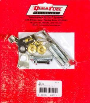 Quick Fuel Technology - Quick Fuel Technology Throttle Return Spring Kit For Square Flange 4 BBL Carburetors