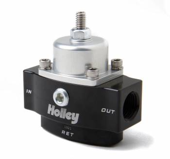 Holley Performance Products - Holley HP Billet Fuel Pressure Regulator - 4.5-9 PSI