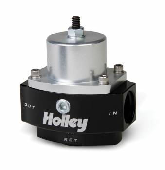 Holley Performance Products - Holley Dominator Billet Fuel Pressure Regulator - 4.5-9 PSI
