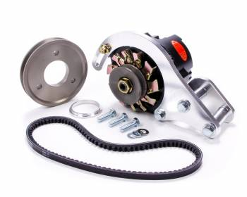 Powermaster Motorsports - Powermaster Pro Series Alternator Kit - Low Mount - Either Side