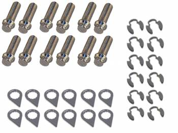 Stage 8 Locking Fasteners - Stage 8 Header Bolt Kit - 12pt. 3/8-16 x 1-1/4 (12)