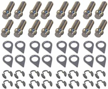 "Stage 8 Locking Fasteners - Stage 8 Header Bolt Kit - 12pt. 3/8-16 x 1"" (16)"