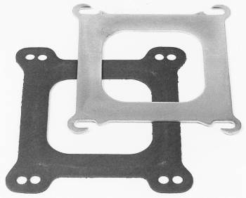 Edelbrock - Edelbrock Performer Series Carburetor Adapter Plate Square-Bore to Spread-Bore