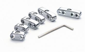 Mr. Gasket - Mr. Gasket Wire Separators - Includes Two 2-Wire / 3-Wire / 4-Wire Separators / Allen Wrench