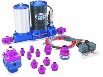 MagnaFuel - MagnaFuel ProStar 500 Fuel Pump Kit - Dual 4BBL Carbs