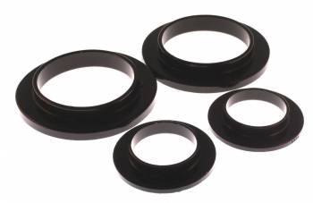 Energy Suspension - Energy Suspension Coil Spring Isolator Set - Black