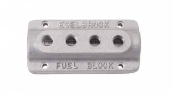 Edelbrock - Edelbrock Fuel Distribution Block - As Cast